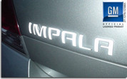 IMPALA Emblem Overlay Decal - 06-11 Impala