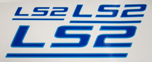 LS2 Decals (pair) 2005 2006 GTO