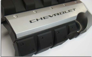 CHEVROLET Engine Cover Overlay Decals - 2010+ Camaro SS