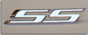 SS Grille and Trunk Badge Overlay Decals - 2010 Camaro SS