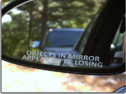 Side View Mirror Decals - Monte Carlo