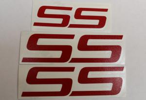 SS Badge Overlay Decals - 06-09 Impala SS
