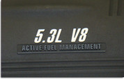 GXP Engine Cover Overlay Decals - Grand Prix GXP