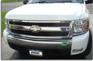 2007-2013 Suburban Front Bowtie Overlay Decal
