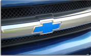 Front Bowtie Emblem Overlay Decal - 04-11 Colorado