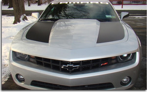 Side Hood Stripes - 2010 Camaro