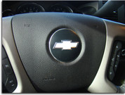 Steering Wheel Bowtie Overlay Decal - 07-14 Suburban
