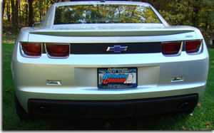 Rear Panel Blackout Decal - 2010+ Camaro
