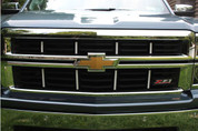 Z71 Grille Accent Decal Kit - 2014-2015 Silverado Z71