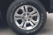 2014 Chevrolet Silverado Z71 Wheel Insert Decal