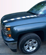 2014 2015 Silverado Hood Spear Stripe Graphic Decal