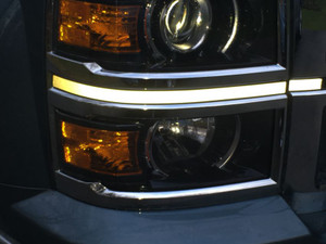 2014 2015 Silverado Headlight Accent Decals