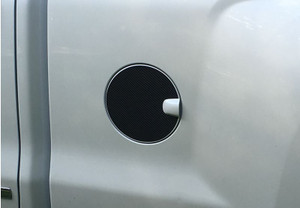 Silverado Fuel Door Overlay Carbon Fiber Decal