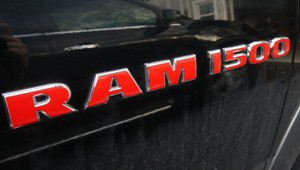 RAM 1500 Door Badge Overlay Decal