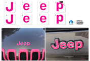 Jeep Emblem Overlay Decals   - 2014-2018 Jeep Cherokee