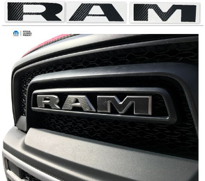 Ram Rebel Grille Emblem Decal