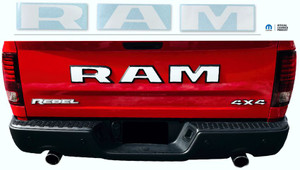 Ram Rebel Tailgate Emblem Overlay Decal