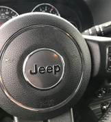 Blackout JEEP Steering Wheel Decal