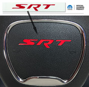 Jeep SRT Steering Wheel Emblem Overlay Decal