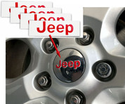Jeep Center Cap Decals