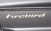 98-02 Pontiac FIREBIRD Badge Overlays