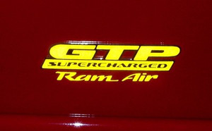 Ram Air Decal- 04-08 Grand Prix