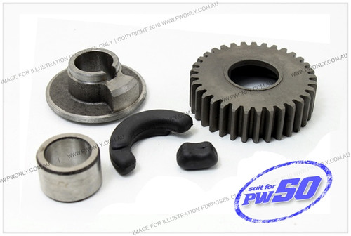 Yamaha pw50 primary drive gear 33t for Yamaha yxz gear reduction kit