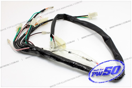 yamaha pw50 wire harness assembly Engine Wiring Harness at Pw50 Wiring Harness