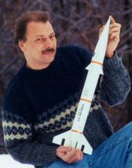 Public Missiles PML Flying Model Rocket Kit Bull Puppy 2.1