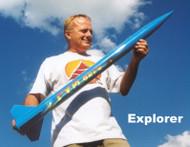 Public Missiles PML Flying Model Rocket Kit Explorer