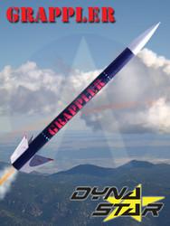 Dynastar Flying Model Rocket Kit Grappler
