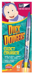 MPC Flying Model Rocket Kit 09 Duck Dodgers Cadet Cruiser with Porky Pig