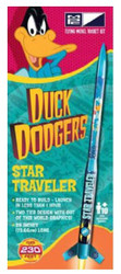 MPC Flying Model Rocket Kit 07 Duck Dodgers Star Traveler with Daffy Duck