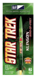 MPC Flying Model Rocket Kit 05 Star Trek Klingon