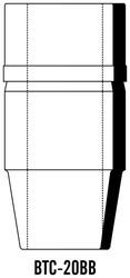 "Semroc Balsa Tail Cone ST-20 3.0"" 29mm   SEM-BTC-20BB *"