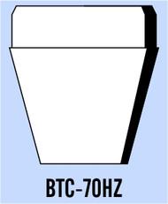 """Semroc Balsa Tail Cone BTH-70 1.75"""" 24mm   SEM-BTC-70HZ *"""