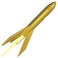 Semroc Flying Model Rocket Kit Golden Scout KV-4