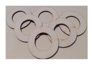 Semroc Centering Ring #5 to #10 (6pk)   SEM-CR-510 *