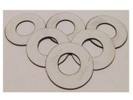 Semroc Centering Ring #7 to #16 (Pkg of 6)   SEM-CR-716 *