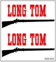 Semroc Decal - Long Tom™   SEM-DCE-KC4 *