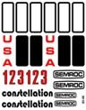 Semroc Decal - Constellation™   SEM-DES-K35 *