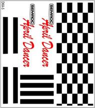 Semroc Decal - April Dancer™   SEM-DKA-5 *