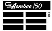 Semroc Decal - Aerobee 150™   SEM-DKD-3 *