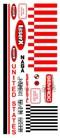 Semroc Decal - Laser-X™   SEM-DKV-33 *