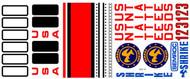 Semroc Decal - Shrike™   SEM-DKV-37 *