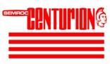 Semroc Decal - Centurion™   SEM-DKV-40 *