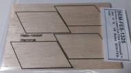 Semroc Laser-Cut Fins Gamma™  (Set of 4)   1/8 Balsa SEM-FES-1325 *
