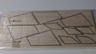 Semroc Laser-Cut Fins Aero Fin™  3/32 Balsa  SEM-FES-1390 *