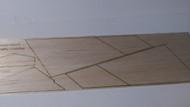 Semroc Laser-Cut Fins ARV Condor™  (Sheets A/B 1/16 Balsa )   SEM-FES-2075 *