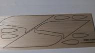 Semroc Laser-Cut Fins Constellation™   3/32 Balsa SEM-FES-K35 *